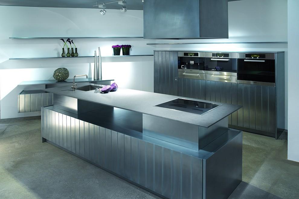 Küchenoberflächen exklusive luxusküchen designerküchen mit oberflächen aus