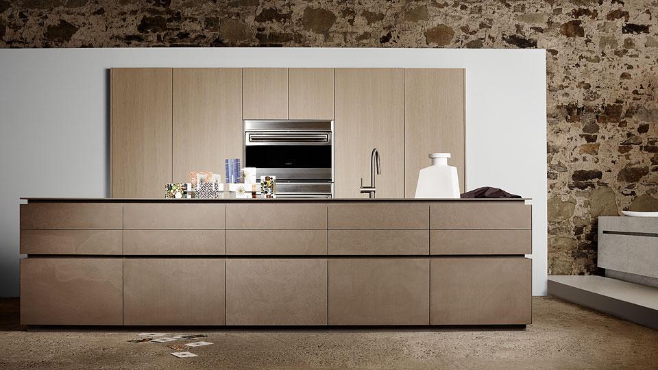 exklusive luxusk chen designerk chen mit oberfl chen aus. Black Bedroom Furniture Sets. Home Design Ideas