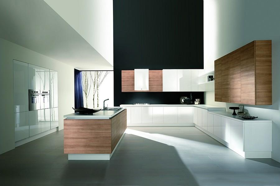 exklusive luxusk chen italienische designerk chen mit oberfl chen aus hochwertiger. Black Bedroom Furniture Sets. Home Design Ideas