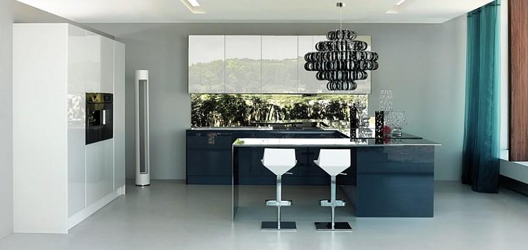 exklusive luxusk chen italienische designerk chen mit. Black Bedroom Furniture Sets. Home Design Ideas